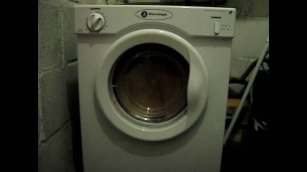 new white knight cl3a compact tumble dryer youtube rh youtube com white knight tumble dryer cl447wv manual white knight condenser tumble dryer manual