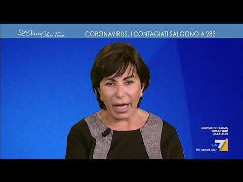 Maria Rita Gismondo: 'Di fare diagnosi televisiva ancora non mi era capitato, la mascherina che ...