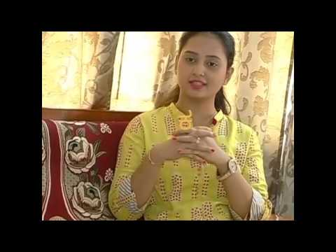 Amulya speaking about marriage preparations