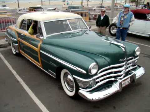 1950 Chrysler Town And Country Clic Car Woody Huntington Beach Ca You