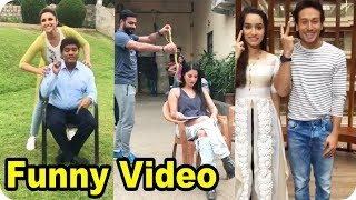 Funny Video Clips Bollywood Movie Actress Full Prank and Comedy Moments