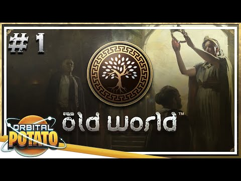 Starting A Dynasty - Old World - Strategy, Turn-based Management Game - Episode #1