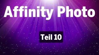 Affinity Photo - Teil 10: Richtig exportieren