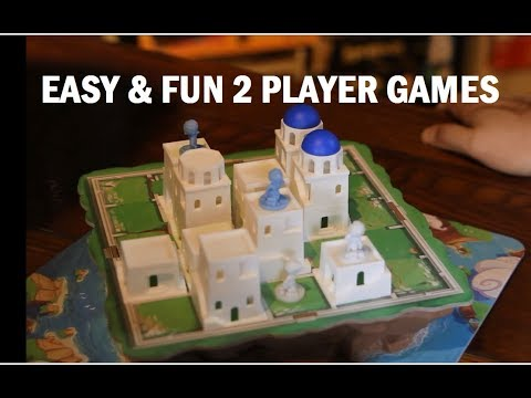 5 Easy To Learn 2-Player Board Games