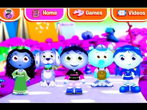Super Why Characters Story Book Village Pbs Kids Menu Youtube