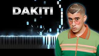 Bad Bunny x Jhay Cortez - Dakiti | Piano Cover, Instrumental Karaoke, Remix