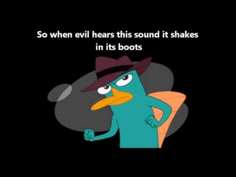 Perry the Platypus theme song with Lyrics