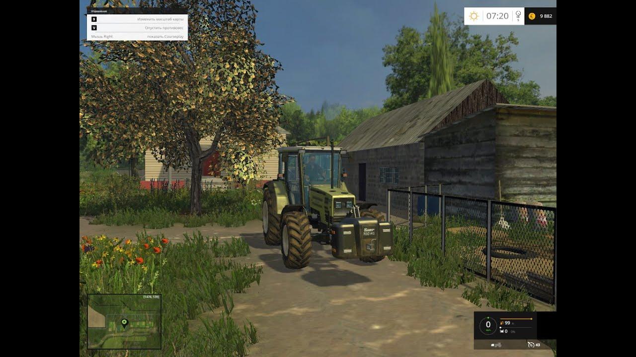 Скачать карту варваровка 2 для farming simulator 2015