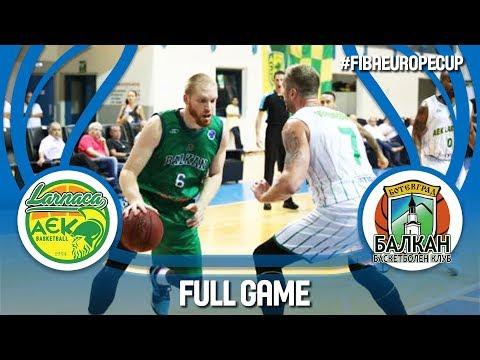 LIVE 🔴 - Petrolina AEK (CYP) v Balkan BC (BUL) - Gameday 1 - FIBA Europe Cup 2018-19