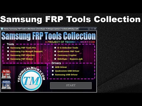 Micky Samsung FRP Tools Collection 2018 - How To Use - All In One