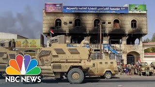 U.S.-Backed Arab Forces Fight To Wrest Vital Yemeni City From Rebels | NBC News