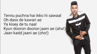 Gambar cover Guru Randhawa : Morni Banke Lyrics | Badhai ho| Tanishk Bagchi|  Neha kakkar| Morni Banke song lyric