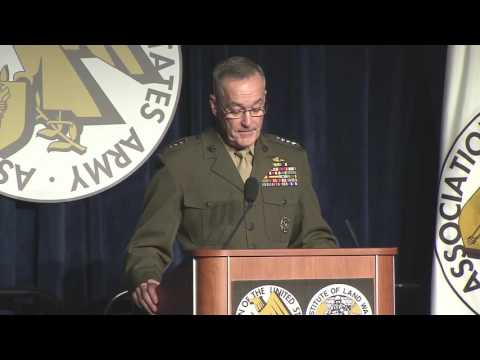 Chairman Speaks at AUSA Conference