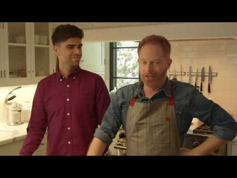Modern Family: Jesse Tyler Ferguson's Holiday Potluck Party | Food & Wine