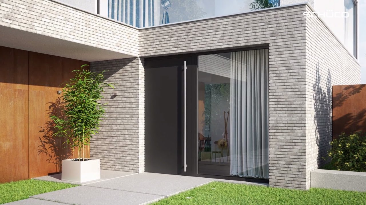 Entrance Doors Schüco Aluminium Entrance Doors