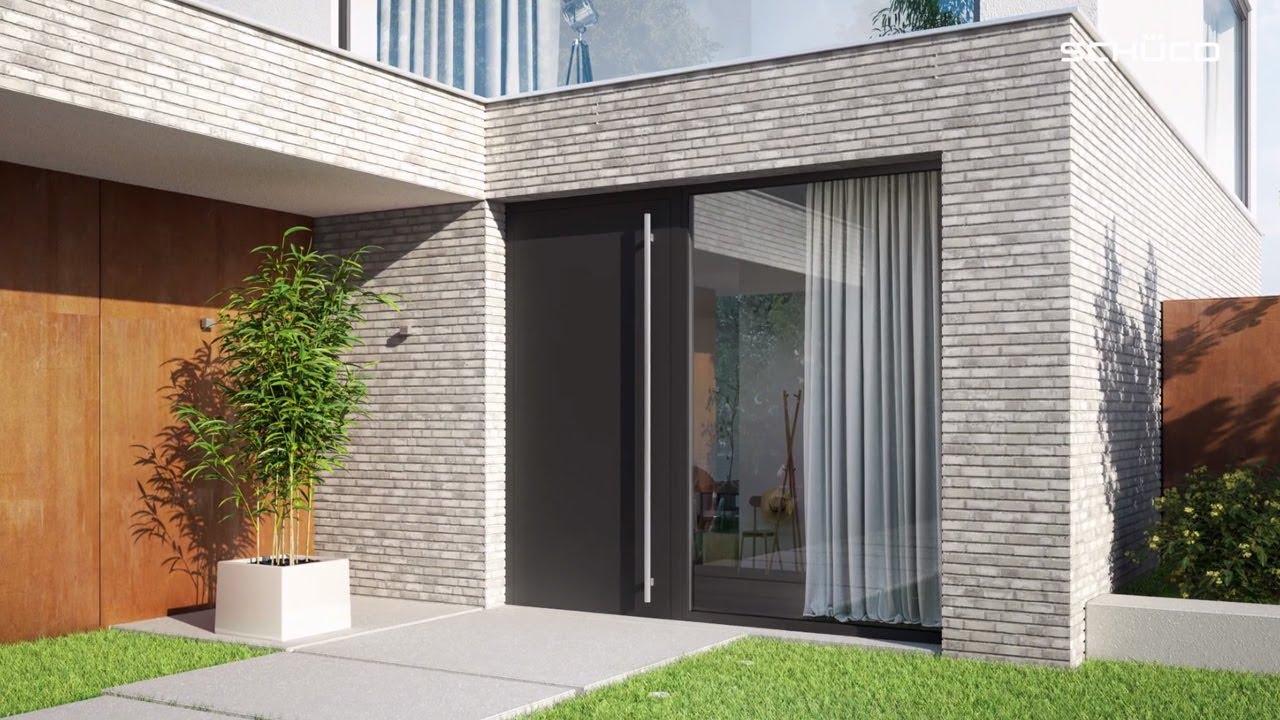 Schco aluminium entrance doors Schco aluminium entrance