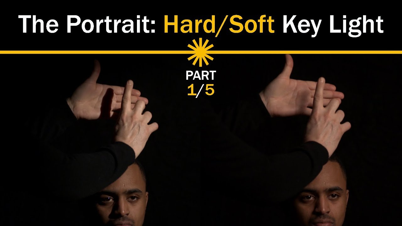online store f8f24 518f7 The Portrait: Hard/Soft Key Light