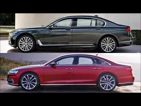 BMW 7 Series vs 2018 Audi A8   NEWS CAR