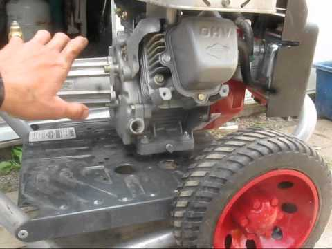 Subaru Generator Wiring Diagram How To Change The Oil In A Power Washer Youtube