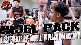 Kansas State Nijel Pack Gets 1st EVER Triple Double in PEACH JAM HISTORY | Jalen Green an TeamWhyNot