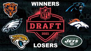 2021 NFL Draft - Biggest WINNERS and LOSERS