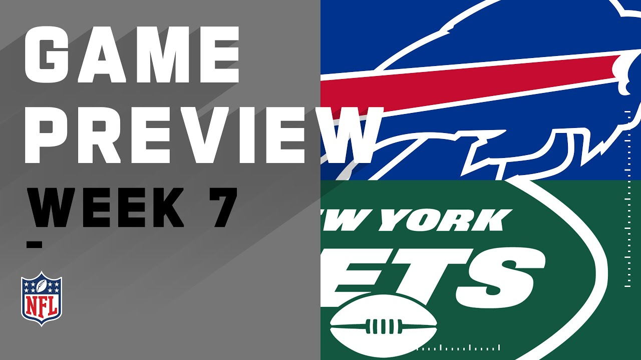 Buffalo Bills vs. New York Jets | NFL Week 7 Game Preview