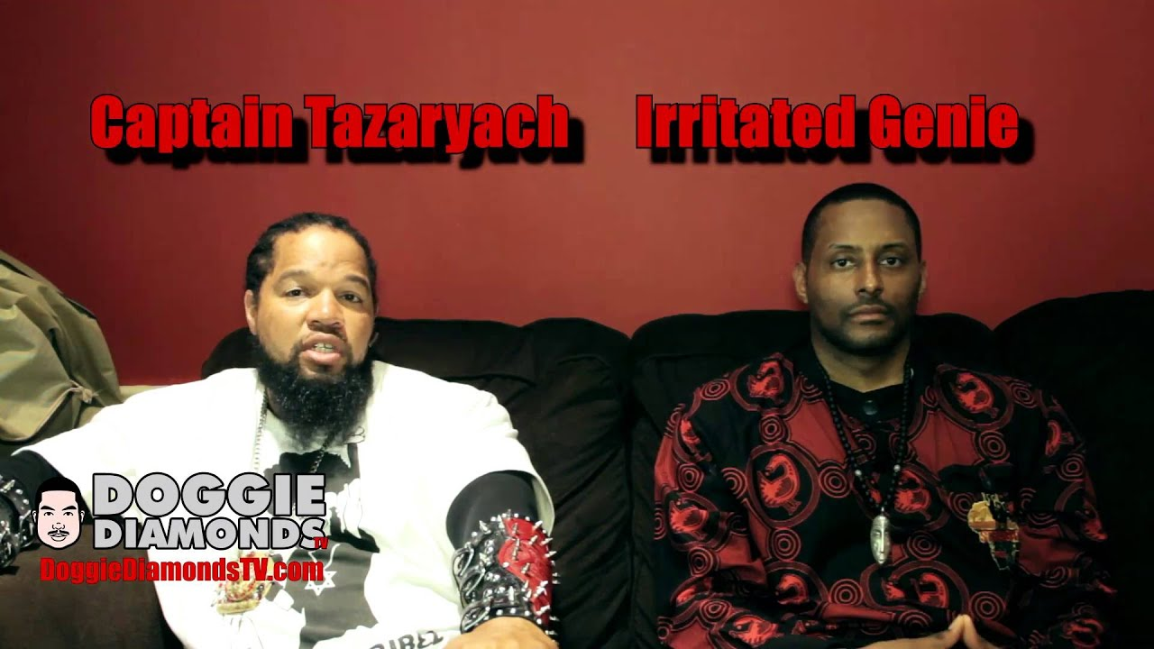 Captain Tazaryach & Irritated Genie Talk Afrika Bambaataa, Child Molestation & George Zimmer