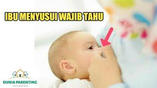 Cara Memberi ASI pada Bayi yang Benar - Ibu Menyusui Harus Tahu