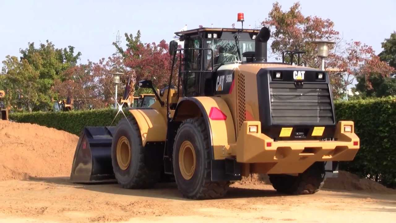 New cat 966k in sand the pon cat open house in denmark 2011 youtube