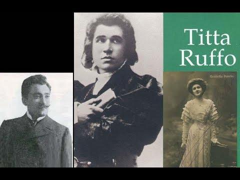Titta Ruffo sings Opera Arias -Cristoforo Colombo{Franchetti} to Don Giovanni{Mozart}