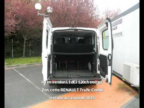 renault trafic combi l1 dci 120ch energy zen albi une occasion autotransac youtube. Black Bedroom Furniture Sets. Home Design Ideas