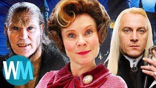 Топ 10 Злодеев из Гарри Поттера