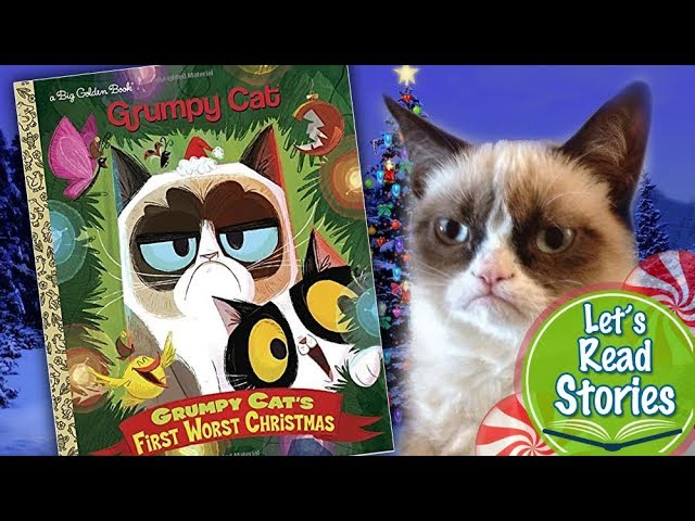 Grumpy Cat The First Worst Christmas Christmas Stories Read Aloud For Children By Kids Youtube