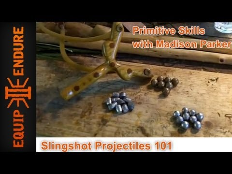 What is the best ammo? Sling Shots Projectile 101, Equip 2 Endure
