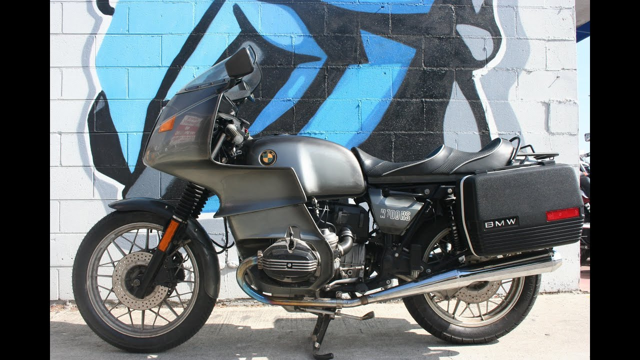 1982 bmw r100rs motorcycle for sale youtube. Black Bedroom Furniture Sets. Home Design Ideas