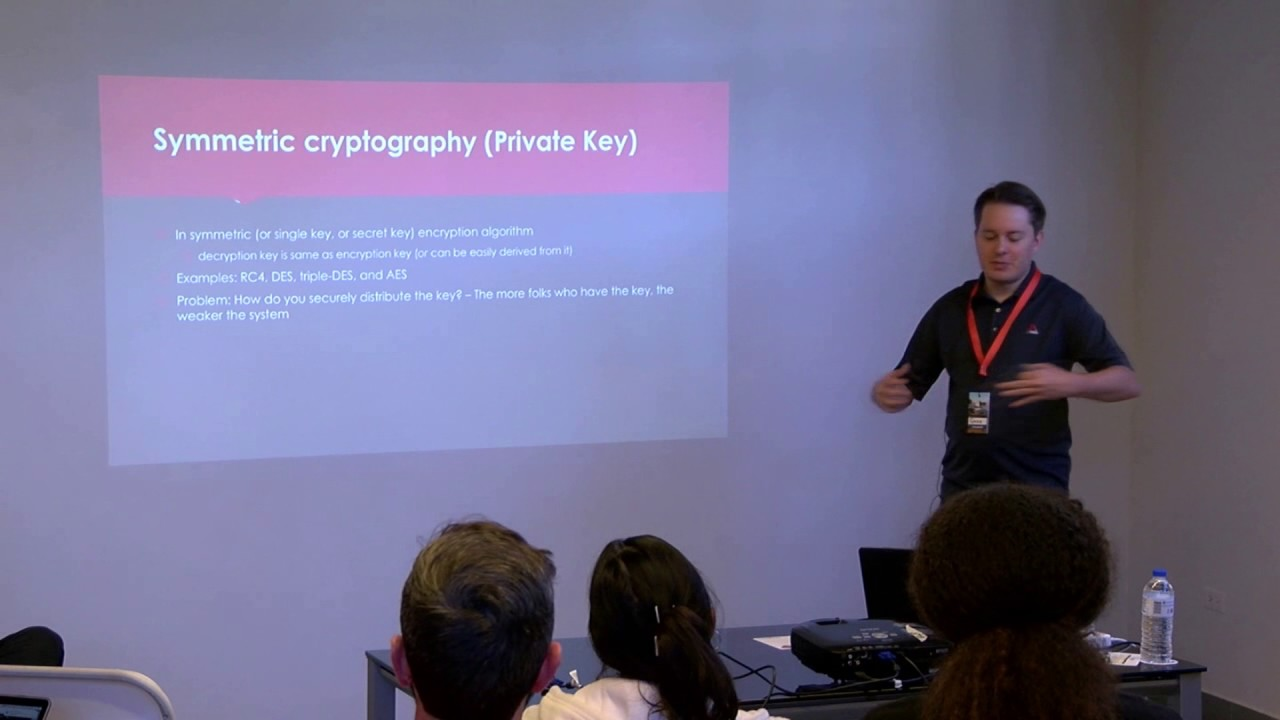 Image from Implementing Encryption and Best Practices - Gene Chorba