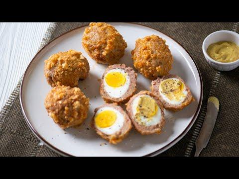 Air Fryer Scotch Eggs - Low-Carb & KETO Friendly!
