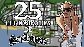 25 CURIOSIDADES SOBRE VIDEOJUEGOS | GTA SAN ANDREAS