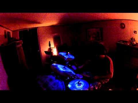 Brooks Hubbert & Chris Ozuna- Waterphone-Electronic drums-Electronica improv jam-4/16/14