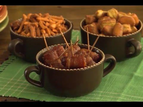 How to Make Bacon Wrapped Smokies | Appetizer Recipes | Allrecipes.com