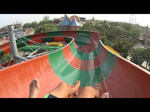 Cruise Water Slide at Blue World
