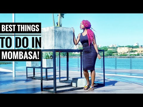 BEST THINGS TO DO IN MOMBASA/KENYA!! (Nyali)