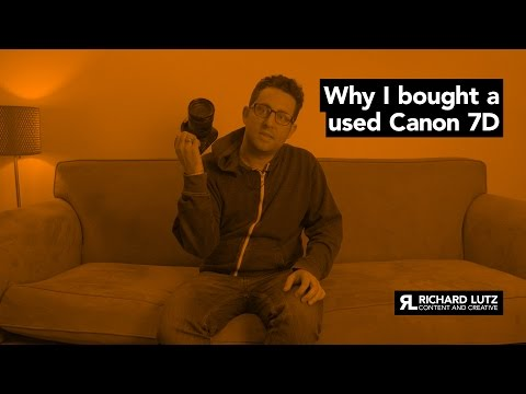 TECH TUESDAY: Why I bought a used Canon 7D