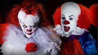 Maquillages du Clown Ça / Pennywise / 2017 & 1990