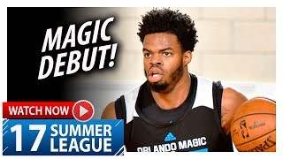 Derrick Walton Jr. Full SL Magic Debut Highlights vs Pacers (2017.07.01) - 10 Pts