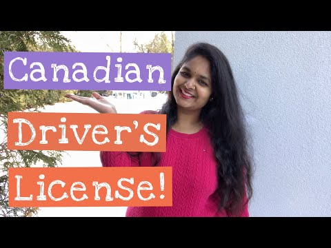How To Get A Driver's License In CANADA?