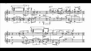 Wyschnegradsky -  Etude sur le Carre Magique Sonore Op.40