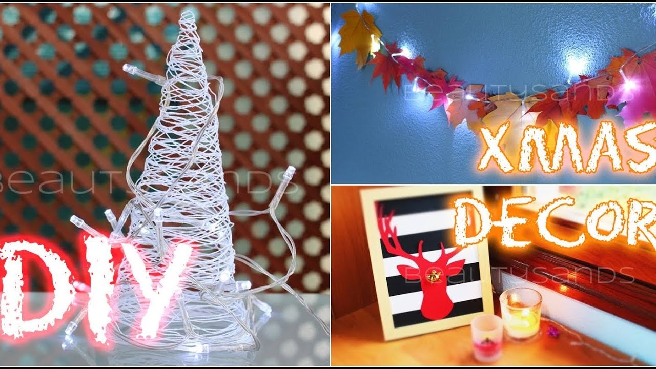 Decoraciones de navidad faciles y economicos diy adornos for Decoraciones faciles y economicas