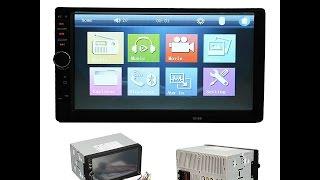Recensione ITA AUDEW Stereo Auto Schermo 7 Pollici 2 Din Auto Bluetooth MP3 / Radio