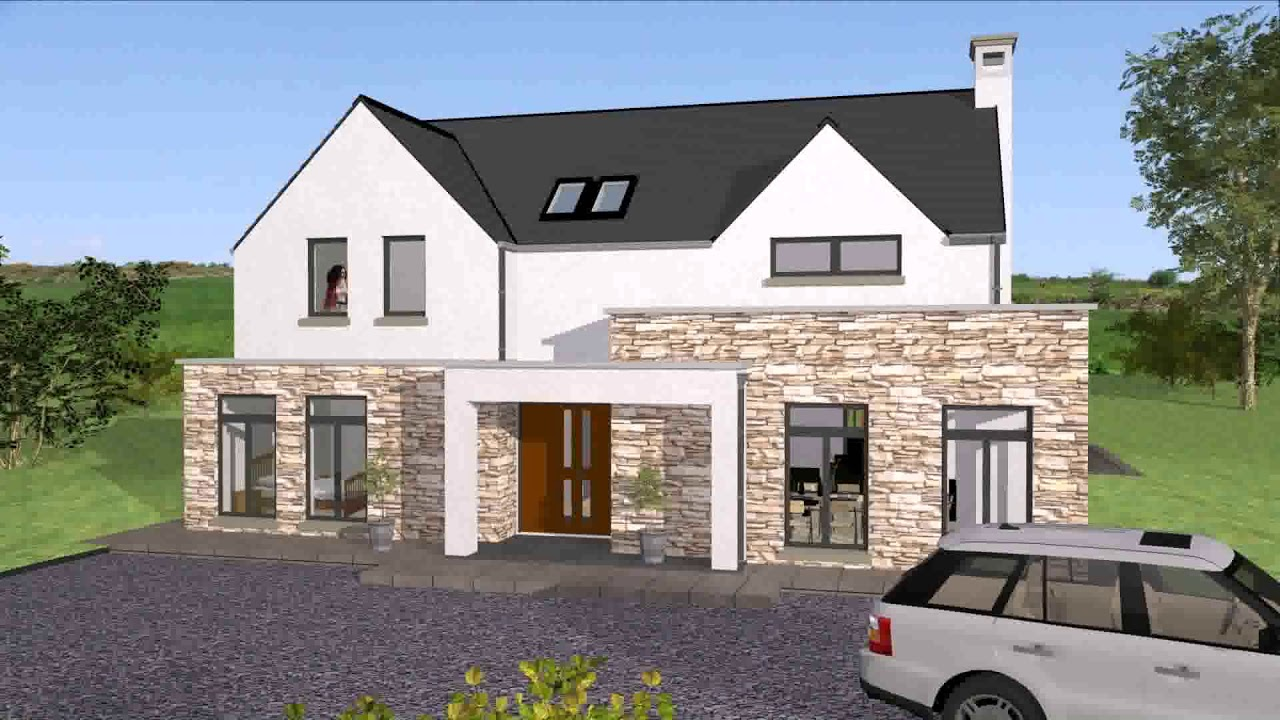Modern Open Plan House Designs Ireland - YouTube on ireland cottage floor plans, ireland lifestyle, ireland house drawings,